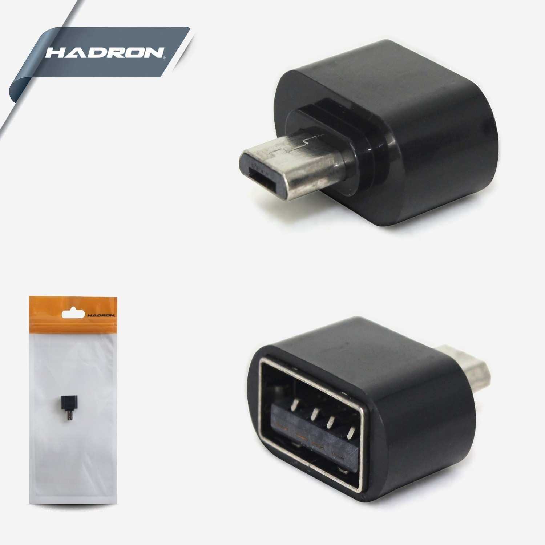 HADRON HD4456 MİCRO USB TO USB  ÇEVİRİCİ DÖNÜŞTÜRÜCÜ CONVERTER