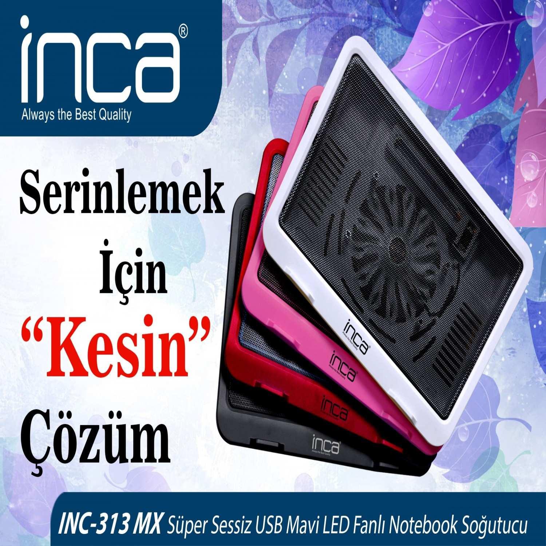 INCA INC-313MXP HI-SPEED PEMBE NOTEBOOK SOĞUTUCU