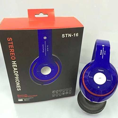 Stn-16 Mikrofonlu Katlanabilir Bluetooth Kulaklık MP3 Çalar