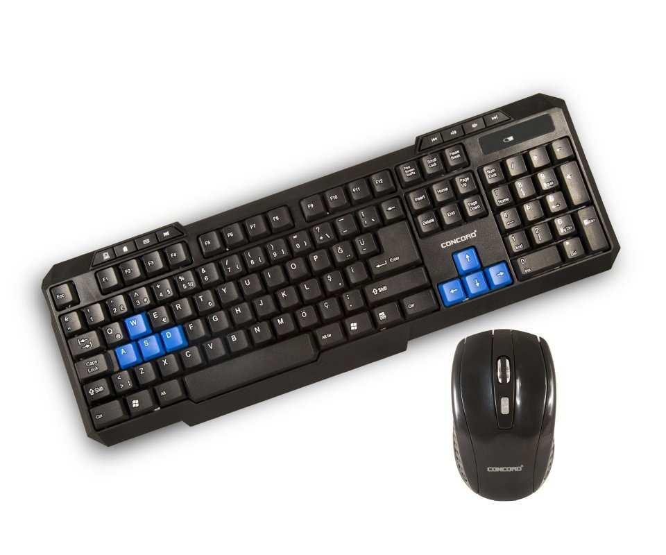 Concord C-50 | Wireless Kablosuz Klavye Mouse Set