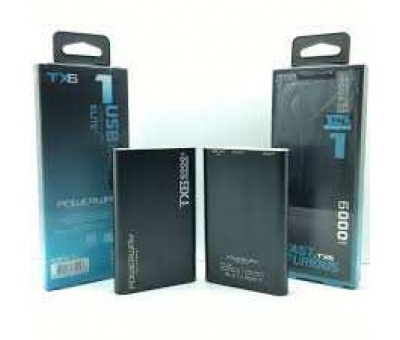POWERWAY TX6 6000 MAh POWERBANK