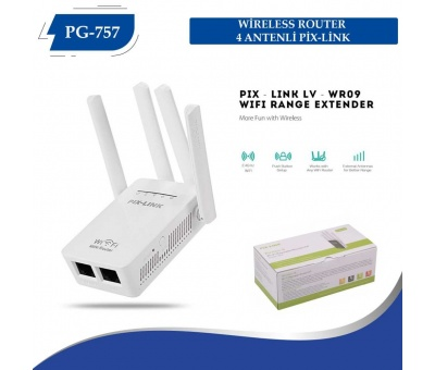 WİRELESS ROUTER 4 ANTENLİ PİX-LİNK