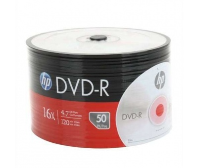 HP DVD-R 16X 4.7 GB 50'li BOŞ DVD