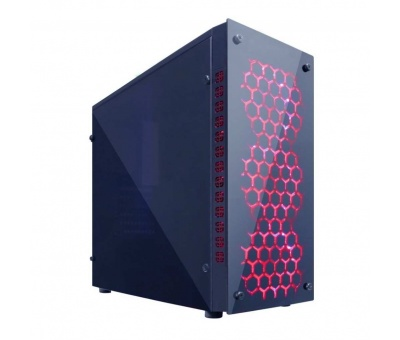 Gaming Turbo X8 4x Fan 32 Red 300W Oyuncu Kasası