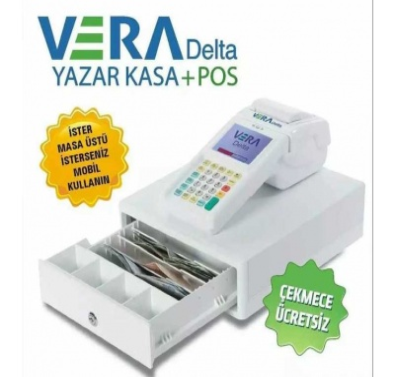 Vera Delta Yazarkasa+Pos