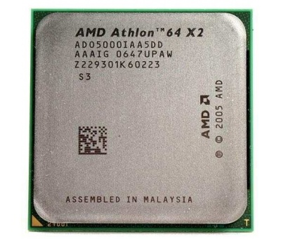 AMD ATHLON 64 X2 DUAL 5000+ (2.6GHz) 512 KB AM2+