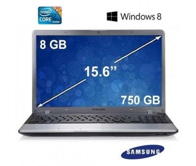 Samsung ATIV Book NP350V5C-S0FTR Intel Core i7 3630QM 2.4GHz 8GB 750GB