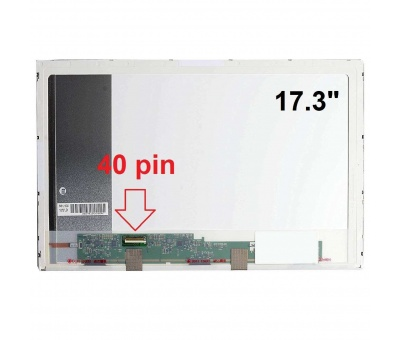 HP Pavilion DV7-3000 Ekran 17.3 Led 40 Pin PANEL Laptop Ekranı