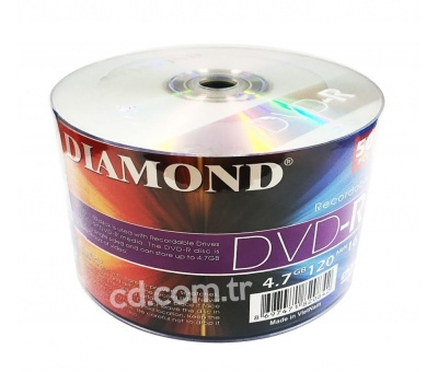 DIAMOND DVD-R 4.7GB BOŞ Dvd