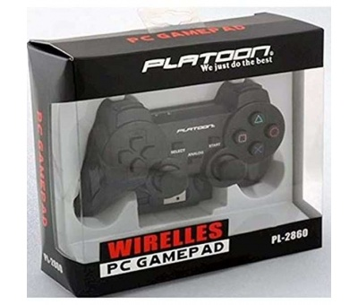 PLATOON PL-2860 KABLOSUZ OYUN KOLU PC-PS2-PS3 ANALOG DUAL SHOCK