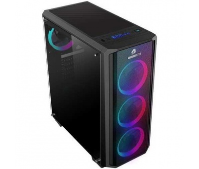 Gamebooster GB-G3030B USB 3.0 Atx Mesh Sıngle Rıng Raınbow Fan Siyah Kasa (Psu Yok)