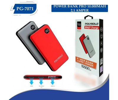 PG-7071 PRO POWER BANK 10000MAH (2,1 QUALTY ŞARZ)