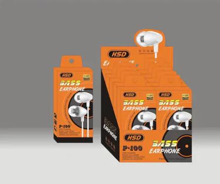 Hsd P-100 Mikrofonlu Kulaklık