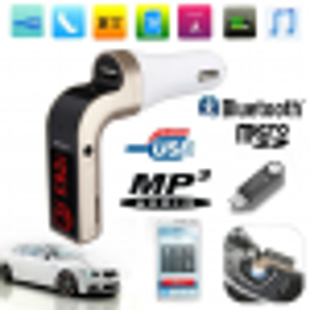 Car-G7 Dijital Ekran Bluetooth Araç Kiti Oto Araç Fm Transmitter