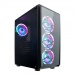 Gaming Turbo X 4x Rainbow Rgb Fan 300W Oyuncu Kasası